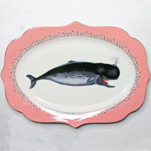 Piatto ovale Balena