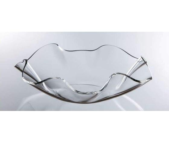 Centro tavola plexiglas onda cm. 30
