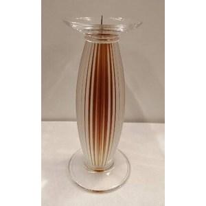 Candeliere Dampierre ocra H. cm. 18,5