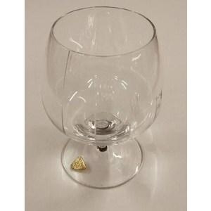 Set 4 calici cognac/brandy  STOLZLE KRISTALL molati