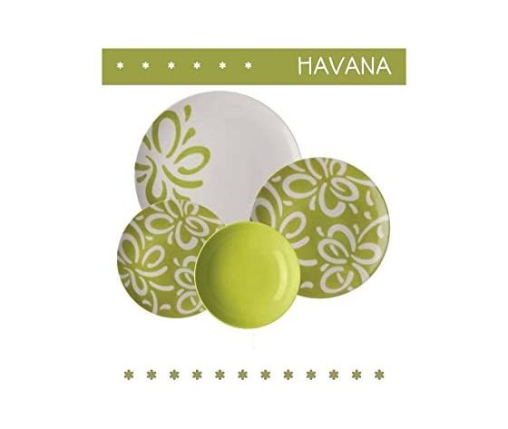 Serv, piatti Havana 20 pezzi