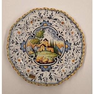 Piatto murale paesaggio fiorentino cm. 34