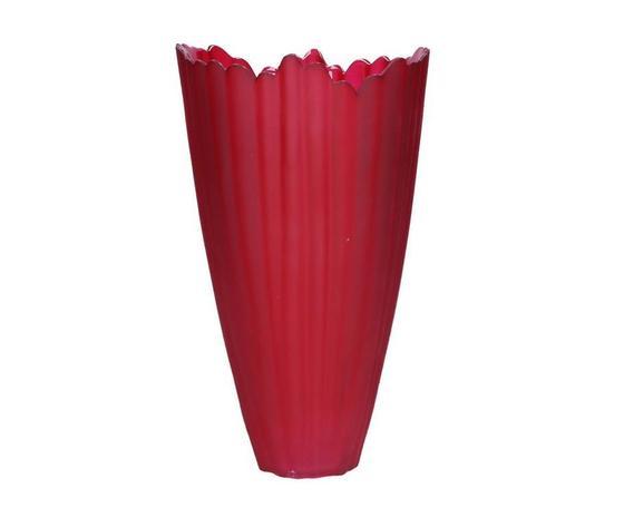 Vaso Tulip rosso cm. 24