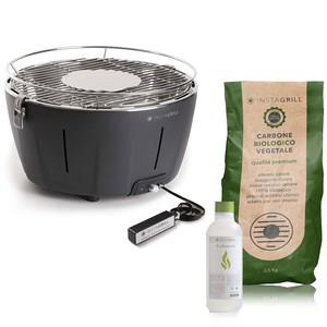 Barbecue da tavolo Instagrill senza fumo portatile|Pak con carbone e Bioetanolo inclusi