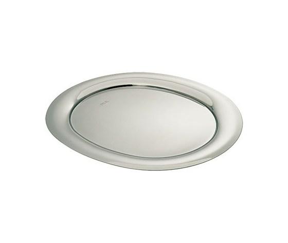 Vassoio ovale W85 acciaio inox