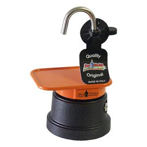 Caffettiera mini 1 tazza arancio
