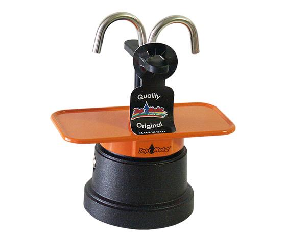 Caffettiera mini 2 tazze arancio