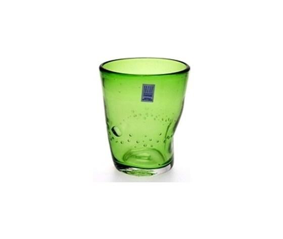 Confezione 6 bicchieri vino verde Samoa