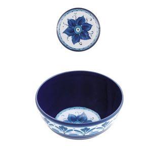 Confezione  2 ciotole medie Havana  Blu cm.15