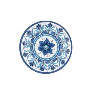 Set 2 piatti piani Havana blu