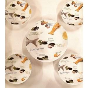 Servizio per primi piatti di pesce 5 pezzi