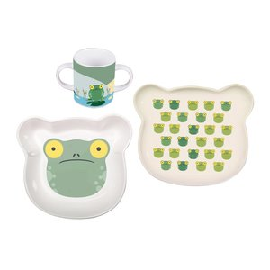 Set 3 porcellane bambino Froggy