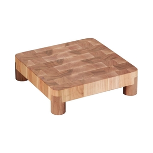 Tagliere legno  c. piedi 35 x 35