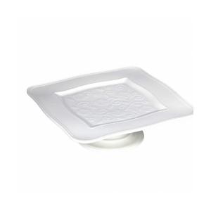 Alzata piatto quadrato Florentina cm.20