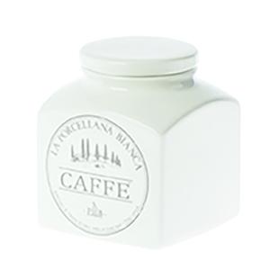 Barattolo porcellana Conserva  1,1 L. Caffè