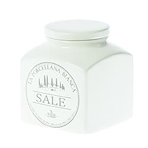 Barattolo porcellana Conserva  1,1 L. Sale