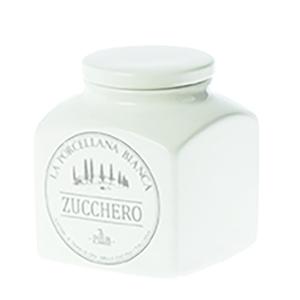 Barattolo porcellana Conserva  1,1 L. Zucchero