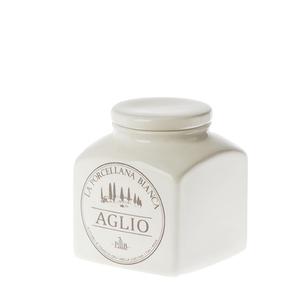 Barattolo porcellana Conserva  0,5 L. Aglio