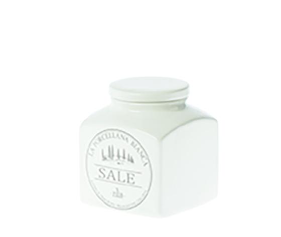 Barattolo porcellana Conserva  0,5 L. Sale