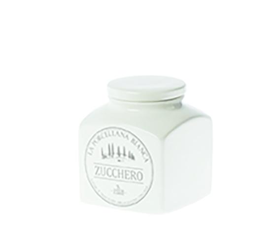 Barattolo porcellana Conserva  0,5L. Zucchero