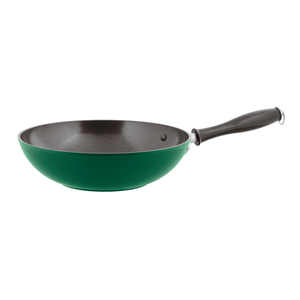 Spadella wok antiaderente 1965 vintage  cm. 28 verde