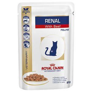 CAT RENAL BEEF 12x85G