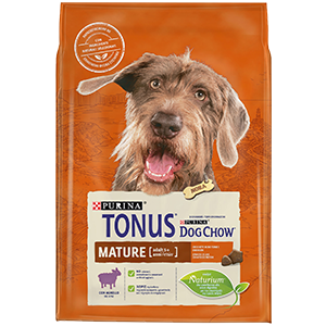 Purina TONUS DOG CHOW Cane Mature Adult Con Agnello crocchette 2500g