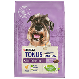 Purina TONUS DOG CHOW Cane Senior Con Pollo crocchette 2500g