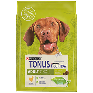 Purina TONUS DOG CHOW Cane Adult Con Pollo crocchette 2500g