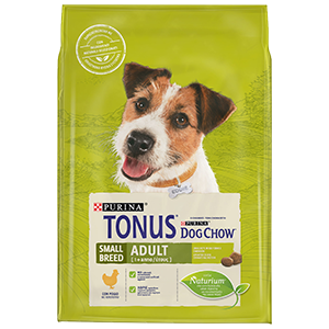 Purina TONUS DOG CHOW Cane Adult Small Breed Con Pollo crocchette 2500g