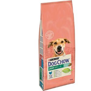 Purina TONUS DOG CHOW Cane Adult Light Con Tacchino crocchette 14000g