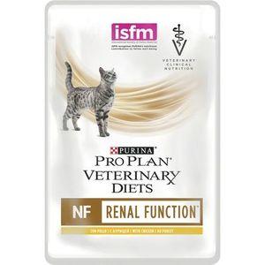 PURINA PRO PLAN VETERINARY DIETS Feline NF Renal Function con Pollo Sfilaccetti Gatto alimento completo dietetico 85gr