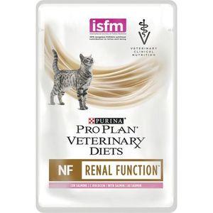 PURINA PRO PLAN VETERINARY DIETS Feline NF Renal Function con Salmone Sfilaccetti Gatto alimento completo dietetico 85gr