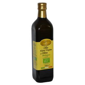 Olio Extravergine di Oliva da Agricoltura Biologica in bottiglia da 0,75 L