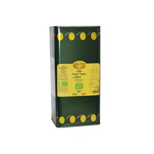 Olio Extravergine di Oliva da Agricoltura Biologica in latta da 5 L