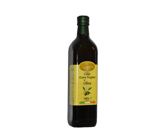 Olio Extravergine di Oliva in bottiglia da 0,75 L