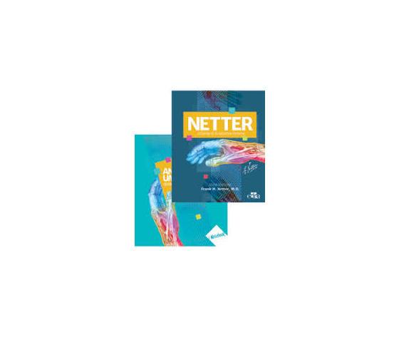 Atlante di Anatomia Umana Netter con Quadernone per appunti IN OMAGGIO con accesso online - Formato Pratico - Edizione 2018
