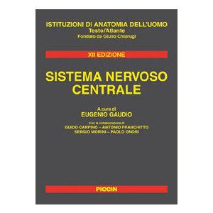 Gaudio, Carpino, Franchitto, Morini, Onori - Sistema Nervoso Centrale,  Istituzioni di Anatomia dell' Uomo XII Ediz.
