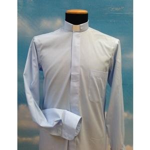 Camicia clergy azzurro 7ML