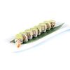 Us62.dragon roll tempura di gambero rivestito avocado e salsa teriyaki 8pz
