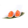 G111.sake gunkan salmone tritato e salmone allesterno 2pz