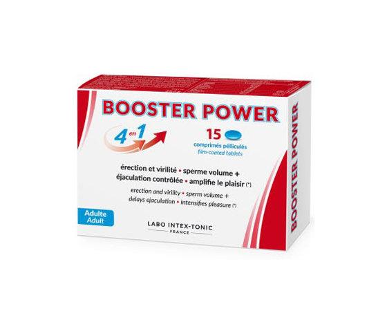BOOSTER POWER STIMOLANTE SESSUALE PER UOMO 4X1