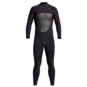 Xcel 4/3 Drylock Celliant TDC Wetsuit Black channal felx