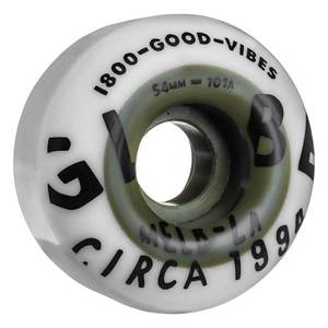 Ruote Globe Good Vibes Dual Pour White Hunter Green 54MM