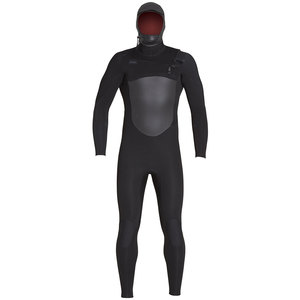 Xcel 5/4 Infiniti Hooded Wetsuit Black Thermolight TDC