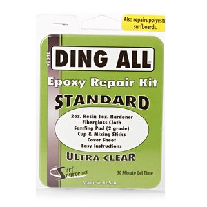 DING ALL Surf Repair Standard 3oz Epoxy Kit for Clear