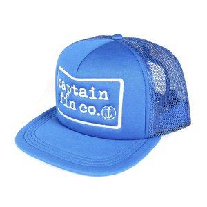 CAPTAIN FIN TYPE PATCH FOAM TRUCKER HAT