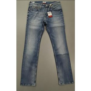 TOMMY JEANS SLIM SCANTON LIGHT BLUE DESTRUCTED