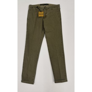 PANTALONE CHINO SASA SLIM FIT AT.P.CO. MICROFANTASIA