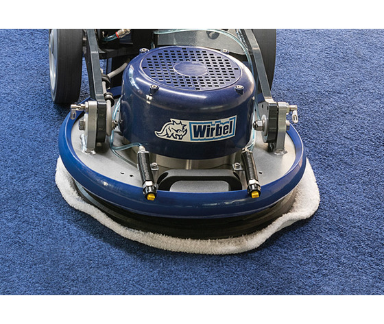 Suitable for fitted carpets and carpets cleaning